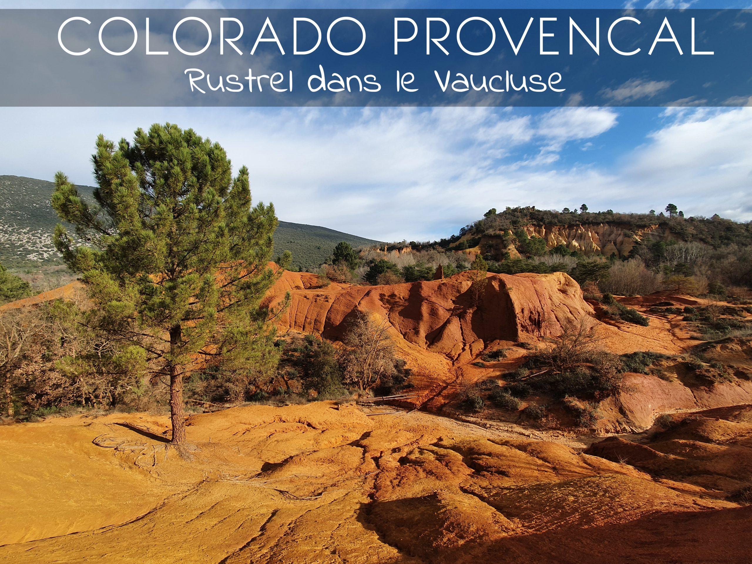 Balade dans le Colorado Provençal à Rustrel