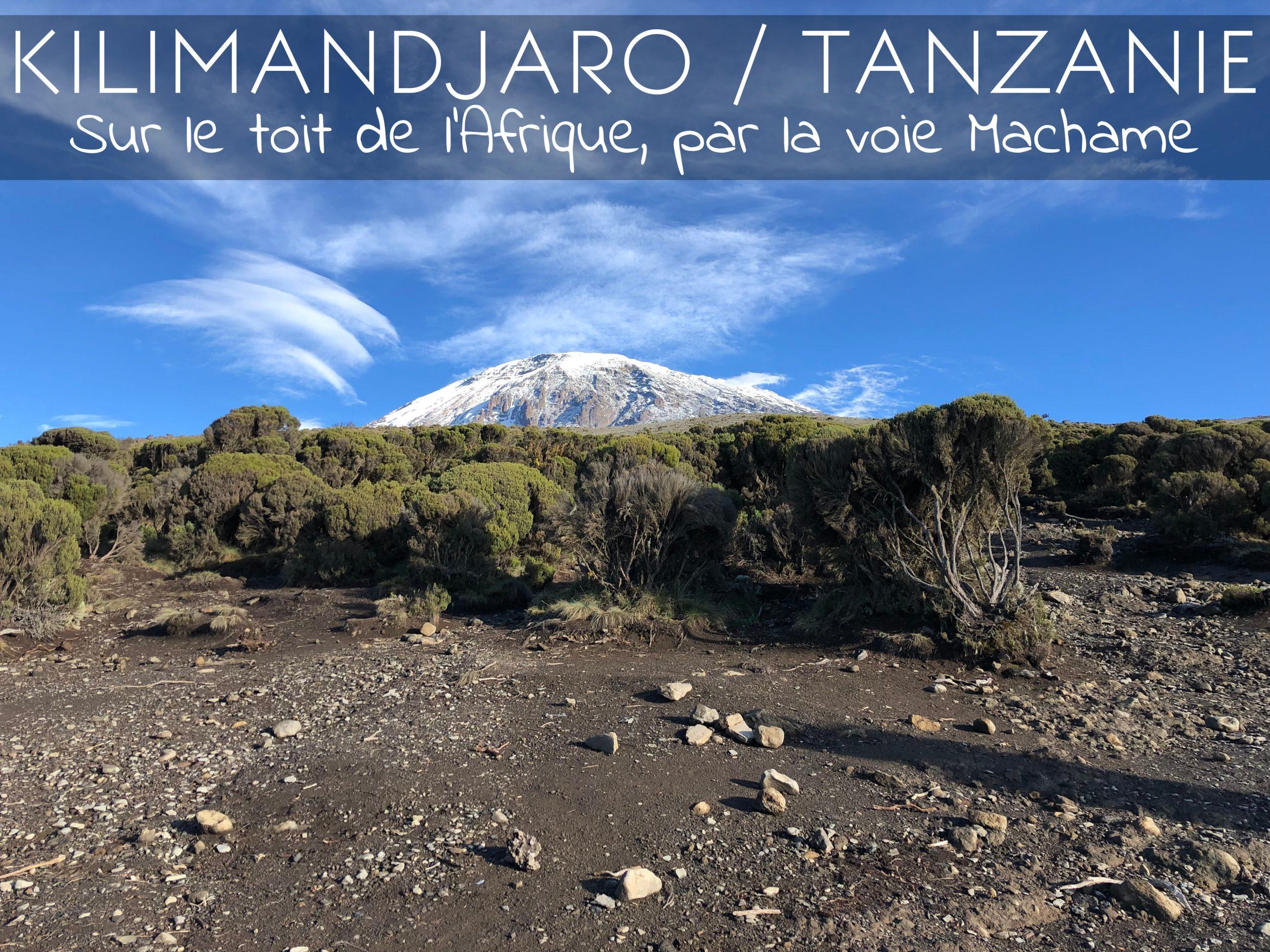 Trek sur le Kilimandjaro par la voie Machame